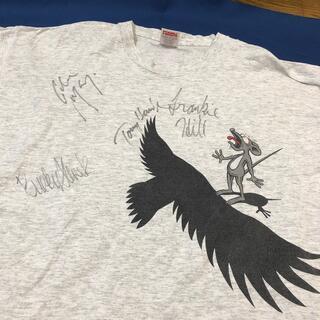 パウエル(POWELL)のトニーホークサイン入り Tシャツ(Tシャツ/カットソー(半袖/袖なし))