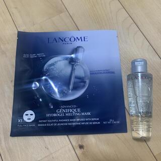 ランコム(LANCOME)のランコム クラリフィックデュアルエッセンスローション、ジェニフィックシートマスク(化粧水/ローション)