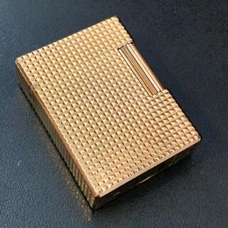 S.T. Dupont - 綺麗 デュポン  ゴールド ガスライター ダイヤカット