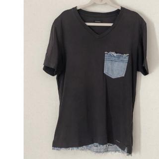 DIESEL - DIESEL ディーゼル  半袖Tシャツ  黒ブラック Sサイズ