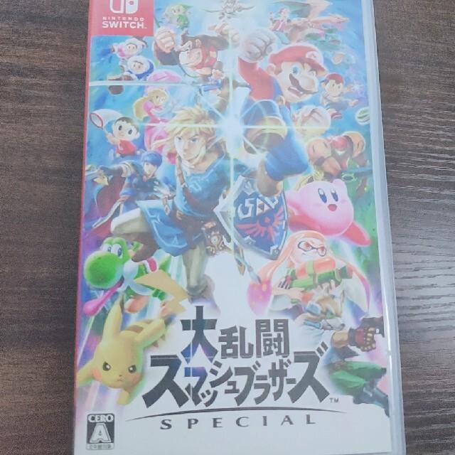 Nintendo Switch(ニンテンドースイッチ)のSwitch スマブラ  エンタメ/ホビーのゲームソフト/ゲーム機本体(家庭用ゲームソフト)の商品写真