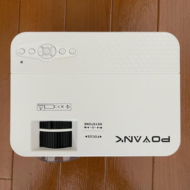 POYANK プロジェクター スマホ/家電/カメラのテレビ/映像機器(プロジェクター)の商品写真