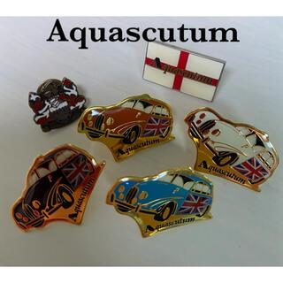 アクアスキュータム(AQUA SCUTUM)の【Aquascutumアクアスキュータム】ピンバッジ6種セット(ブローチ/コサージュ)