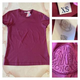 モンクレール(MONCLER)のモンクレール Tシャツ 正規品 レディース XS MONCLER  古着 XS(Tシャツ(半袖/袖なし))