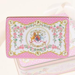 未開封 エリザベス女王 95歳 バースデー記念 ショートブレッド ビスケット 缶(菓子/デザート)