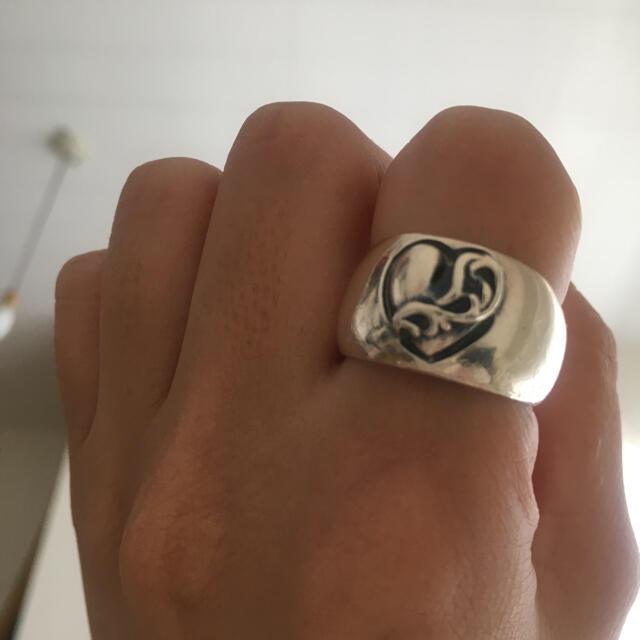 Chrome Hearts(クロムハーツ)のクロムハーツ ハートリング レディースのアクセサリー(リング(指輪))の商品写真