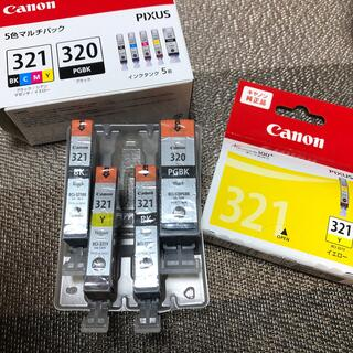 キヤノン(Canon)のCanon インク 未使用 321 320(オフィス用品一般)