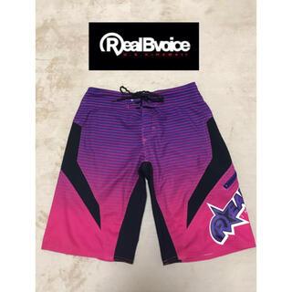 リアルビーボイス(RealBvoice)のリアルビーボイス realbvoice ハーフパンツ メンズ28インチ 紫(ショートパンツ)
