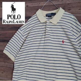 POLO RALPH LAUREN - ポロラルフローレン90s ポニー ロゴ刺繍  ポロシャツ
