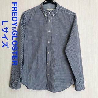 FREDY & GLOSTER - FREDY&GLOSTER チェックシャツ Lサイズ