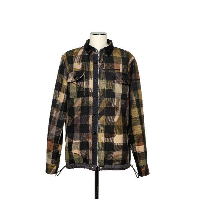 sacai(サカイ)のsacai KAWS Plaid Shirt サカイ カウズ メンズのトップス(シャツ)の商品写真