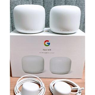 グーグル(Google)のGoogle Nest Wifi ルーターと拡張ポイント(PC周辺機器)