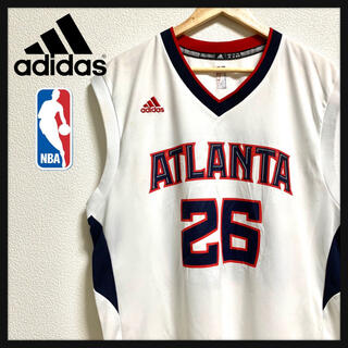 adidas - 【激レア】NBA Adidas ユニフォーム ゲームシャツ Atlanta M