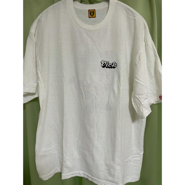 GDC(ジーディーシー)のhuman made verdy girl's don't cry tシャツ 白 メンズのトップス(Tシャツ/カットソー(半袖/袖なし))の商品写真