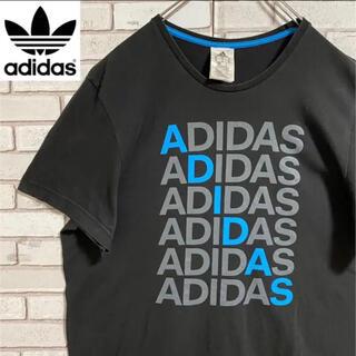 アディダス(adidas)の90s 古着 アディダス 2XL Tシャツ ロゴプリント ビッグシルエット(Tシャツ/カットソー(半袖/袖なし))