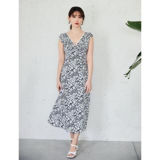 snidel - herlipto♡Lace Trimmed Floral Dress