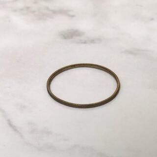 アッシュペーフランス(H.P.FRANCE)の極細ピンキーリング(リング(指輪))