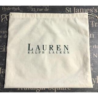 ラルフローレン(Ralph Lauren)の🐎ラルフローレン 布袋 巾着 バッグカバー(ショップ袋)
