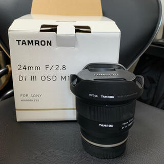 TAMRON - TAMRON24mm F2.8 DiIII OSDM1:2/Model F051