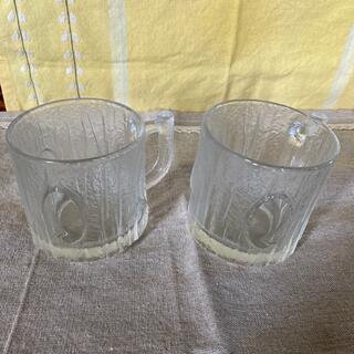 ネスレ(Nestle)の昭和レトロガラスコップ(ガラス)