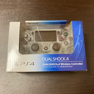 プレイステーション4(PlayStation4)の純正 PS4 コントローラー クリスタル(その他)