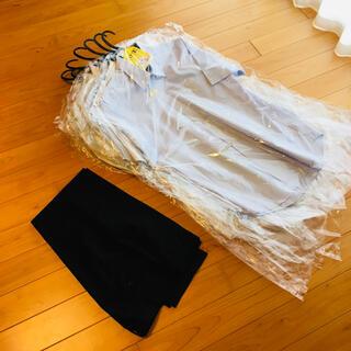 ユニクロ(UNIQLO)の感動パンツとワイシャツ9枚セット(スラックス/スーツパンツ)