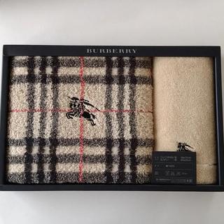 BURBERRY - 新品未使用 バーバリー Burberry  フェイスタオル ミニテリー セット