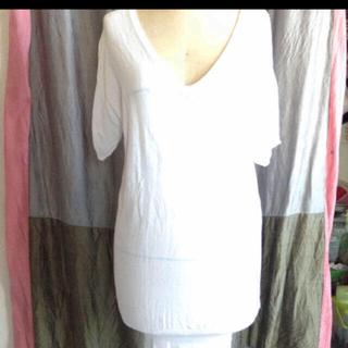ブリスポイント(BLISS POINT)のbliss  Point サマーニット 白(Tシャツ(半袖/袖なし))