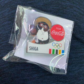 コカ・コーラ - 東京オリンピック×コカ・コーラ 聖火リレー 限定ピンバッジ  滋賀県