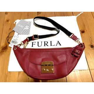 Furla -  FURLA フルラ 835283 メトロポリス エイミー ボディバッグ レッド