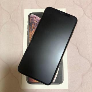 アップル(Apple)のiPhone xs max ゴールド SIMフリー 512GB(スマートフォン本体)