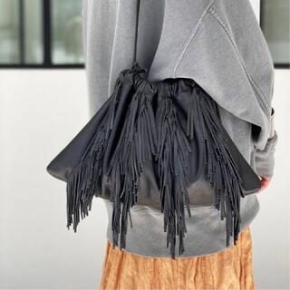 L'Appartement DEUXIEME CLASSE - L'Appartement 【グッドグリーフ】LeatherFringe Bag