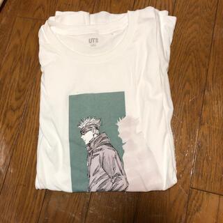 ユニクロ(UNIQLO)の五条悟 ユニクロ Tシャツ 呪術廻戦 XL(キャラクターグッズ)