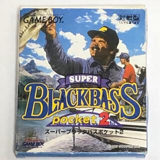 ゲームボーイ(ゲームボーイ)のGB スーパーブラックバスポケット2(携帯用ゲームソフト)