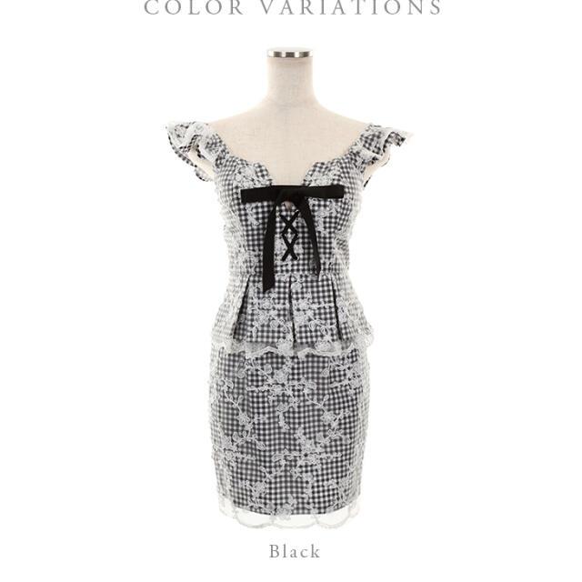 ROBE(ローブ)の専用 レディースのフォーマル/ドレス(ミニドレス)の商品写真