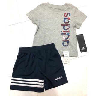 アディダス(adidas)の【新品・タグ付き】6ヵ月 adidasセットアップ adidasベビー(Tシャツ)