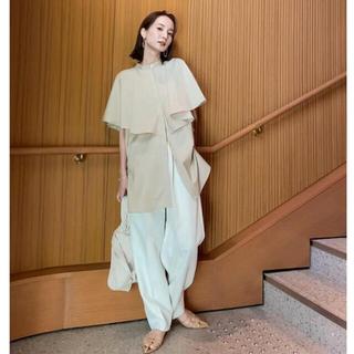 TODAYFUL - louren 新品 drape cape blouse