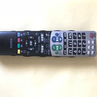 シャープ(SHARP)のSHARP AQUOS テレビリモコン GA826WJSA(テレビ)