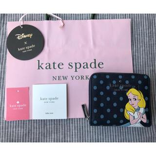 kate spade new york - 新品 ケイトスペード Disney 不思議の国のアリス 折り財布