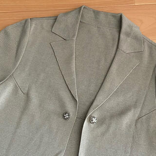 FOXEY - フォクシービジューボタン半袖ニットジャケット超美品40