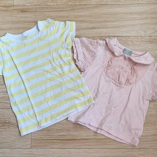 ムジルシリョウヒン(MUJI (無印良品))の無印良品 半袖カットソー 2枚セット(Tシャツ/カットソー)