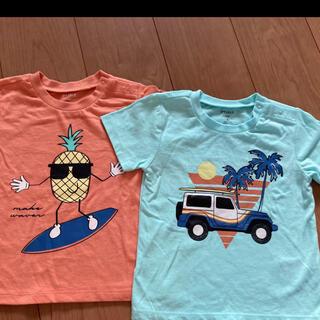 コストコ(コストコ)の新品未使用✨ 夏らしい 綿100% Tシャツ カットソー2枚組(Tシャツ/カットソー)