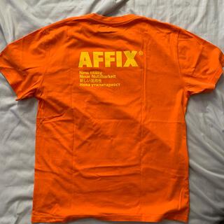 ラフシモンズ(RAF SIMONS)のaffix  Standardized ロゴ T シャツ(Tシャツ/カットソー(半袖/袖なし))