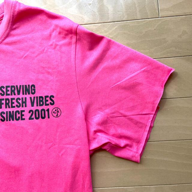 ZUNBA ズンバ Tシャツ フィットネス 新品タグ付き スポーツ/アウトドアのスポーツ/アウトドア その他(ダンス/バレエ)の商品写真