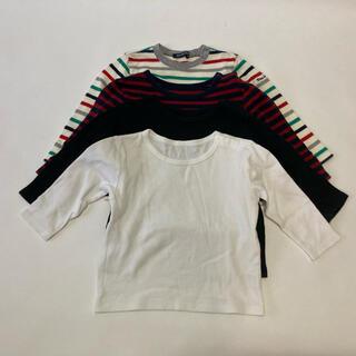 ムジルシリョウヒン(MUJI (無印良品))の子供服 長袖 80センチ 4枚セット(その他)