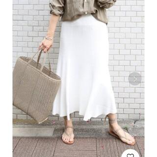 DEUXIEME CLASSE - 美品☆ ドゥーズィエムクラス SWING RIB スカート