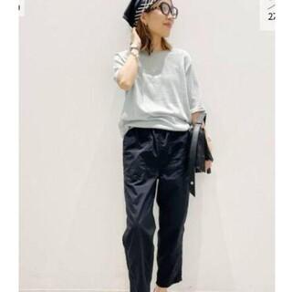 アパルトモンドゥーズィエムクラス(L'Appartement DEUXIEME CLASSE)の【Americana/アメリカーナ】Nylon Pants 34(カジュアルパンツ)