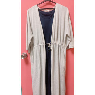 chocol raffine robe - ロングカーディガン