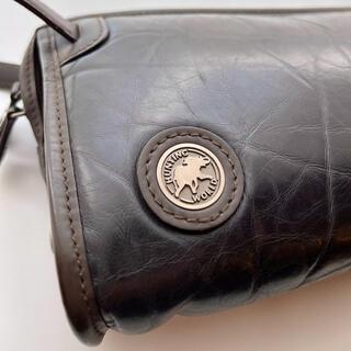 HUNTING WORLD - ハンティングワールド◎本革セカンドバッグ