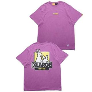 エクストララージ(XLARGE)のXLARGE FR2 Fxxk Icon Tee2 パープル 紫 XLサイズ(Tシャツ/カットソー(半袖/袖なし))
